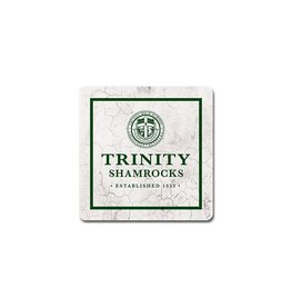 League Legacy Sandstone Coaster Cream Trinity Shamrocks