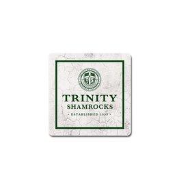 Legacy Athletics Legacy Sandstone Coaster Trinity Crest