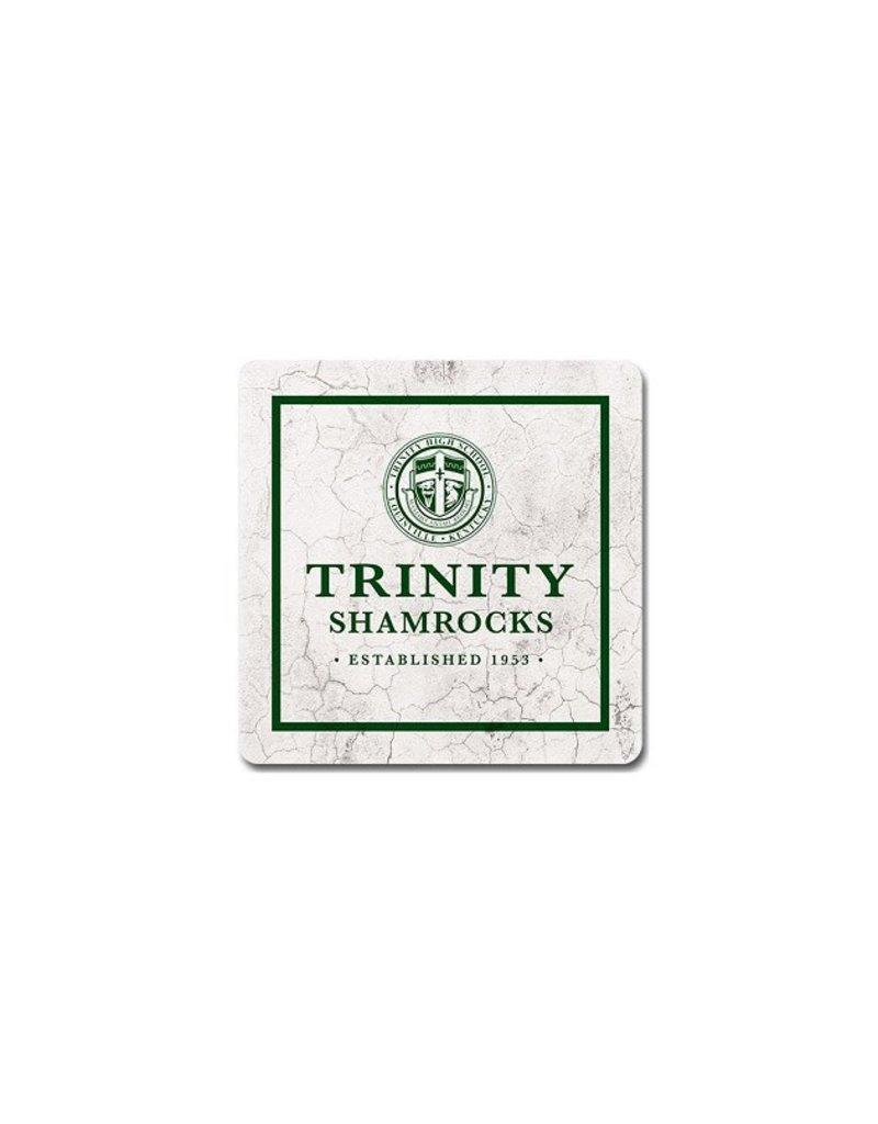 League Legacy Sandstone Coaster Trinity Crest