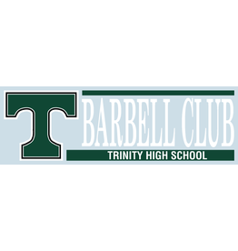 Angelus Pacific Barbell Club Car Decal
