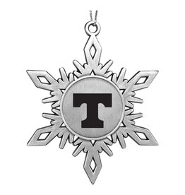 LXG Snowflake Ornament Pewter