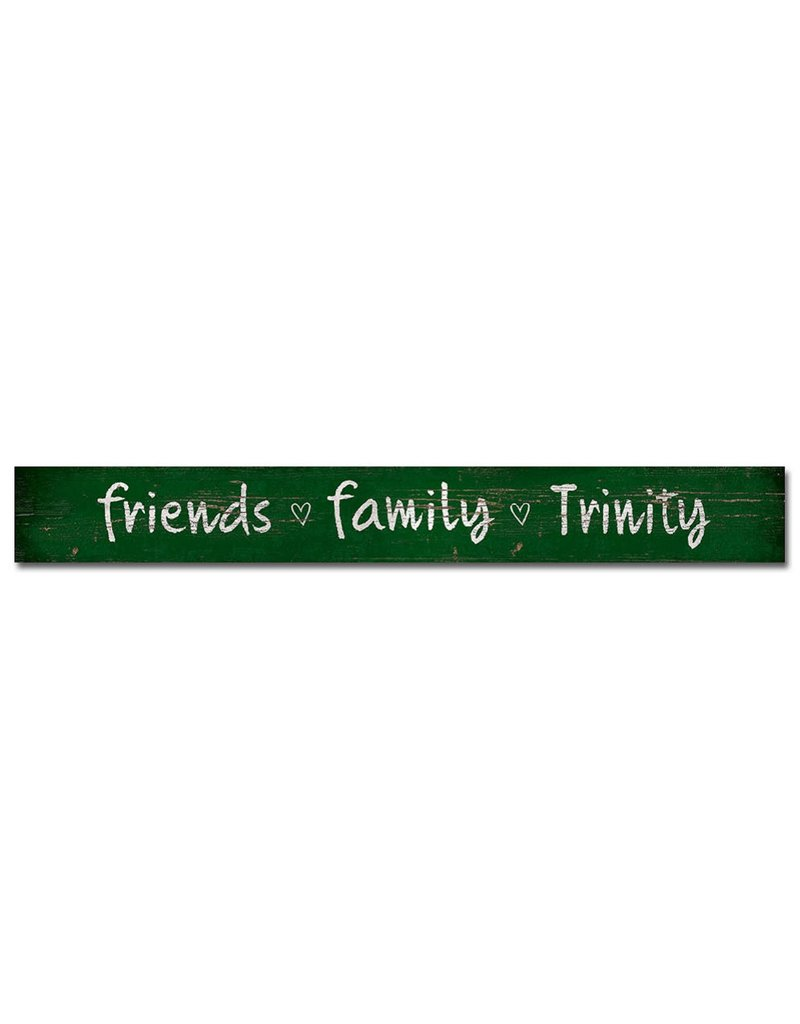 Legacy Athletics Friends Family Trinity Wood Plaque