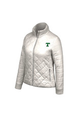 Top of the World Final Sale Diamond Lightweight Puffer Jacket
