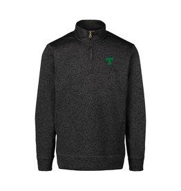 MV Sports Final Sale Asphalt Vintage 1/4 Zip Sweater