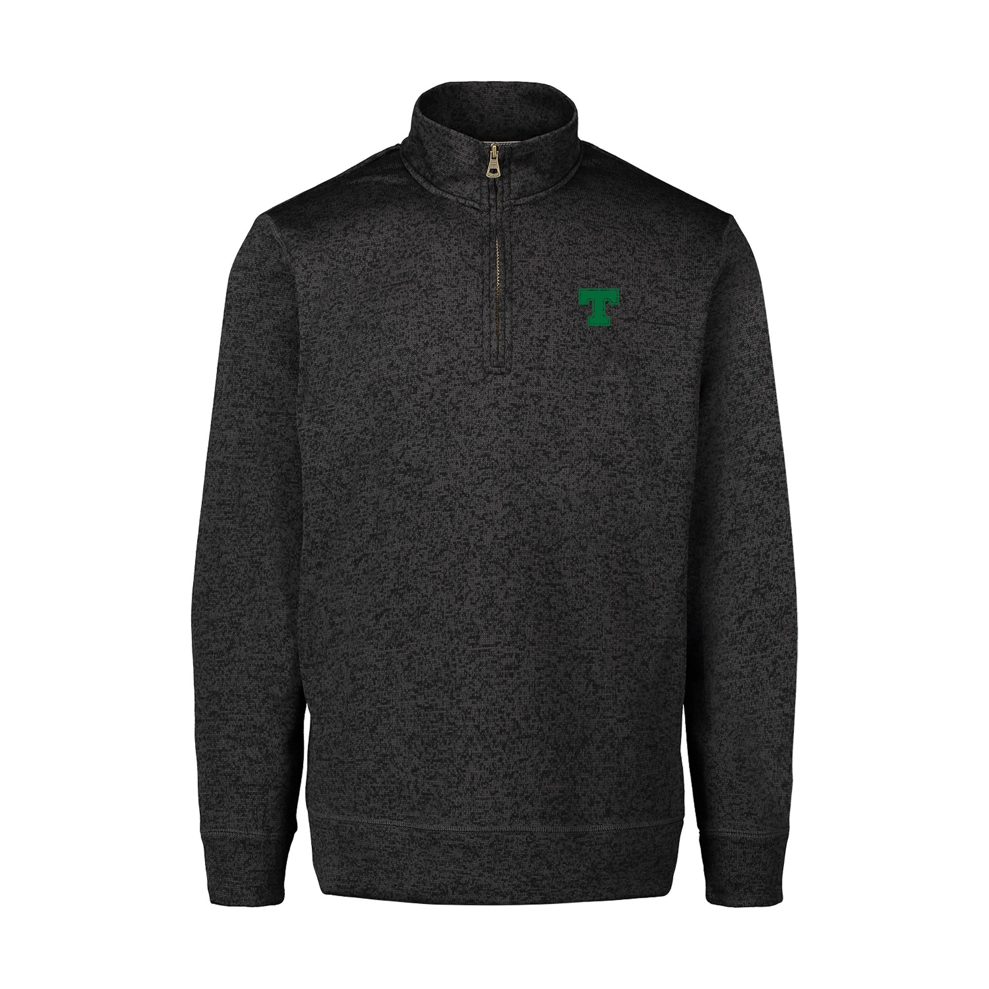 MV Sports Asphalt Vintage 1/4 Zip Sweater