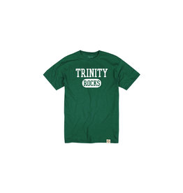 League Youth Cotton Tee with Trinity Rocks