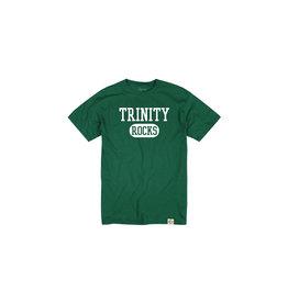 League Youth Cotton Tee with Trinity Rocks
