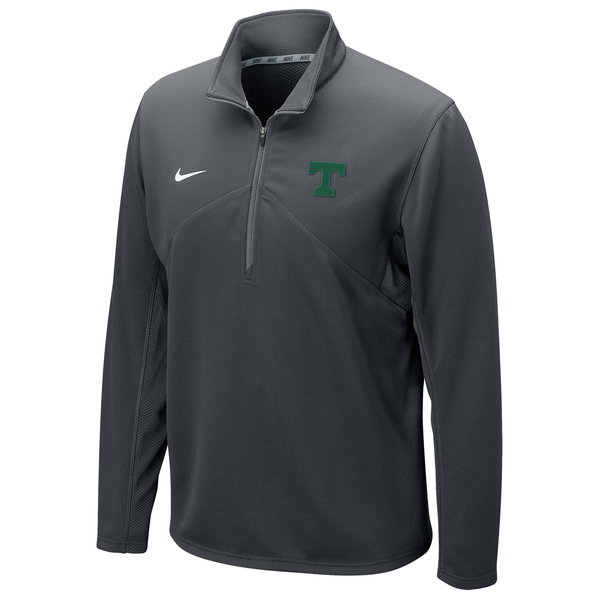 Nike Nike Dri-Fit 1/4 Zip Anthracite with Green T