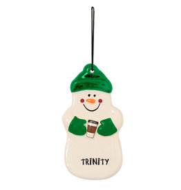 Spirit Products Snowman Ornament Coffee
