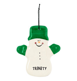 Spirit Products Snowman Ornament CLaude