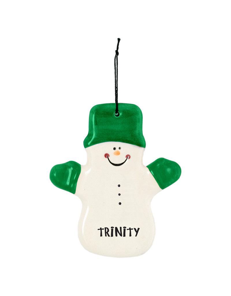 Spirit Products Snowman Ornament CLaude