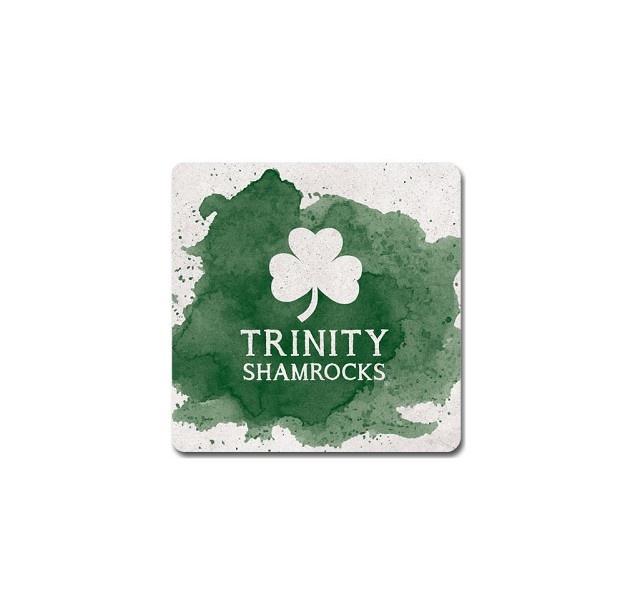 Legacy Trinity Shamrocks Color Spill Coaster