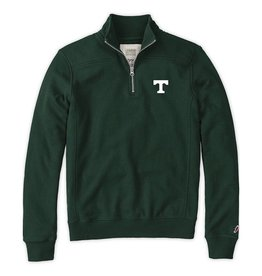 League Final Sale League Youth  1/4 Zip Hunter Green