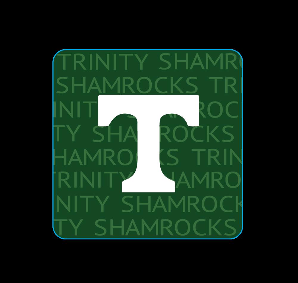 Blue 84 Trinity Square Custom Sticker