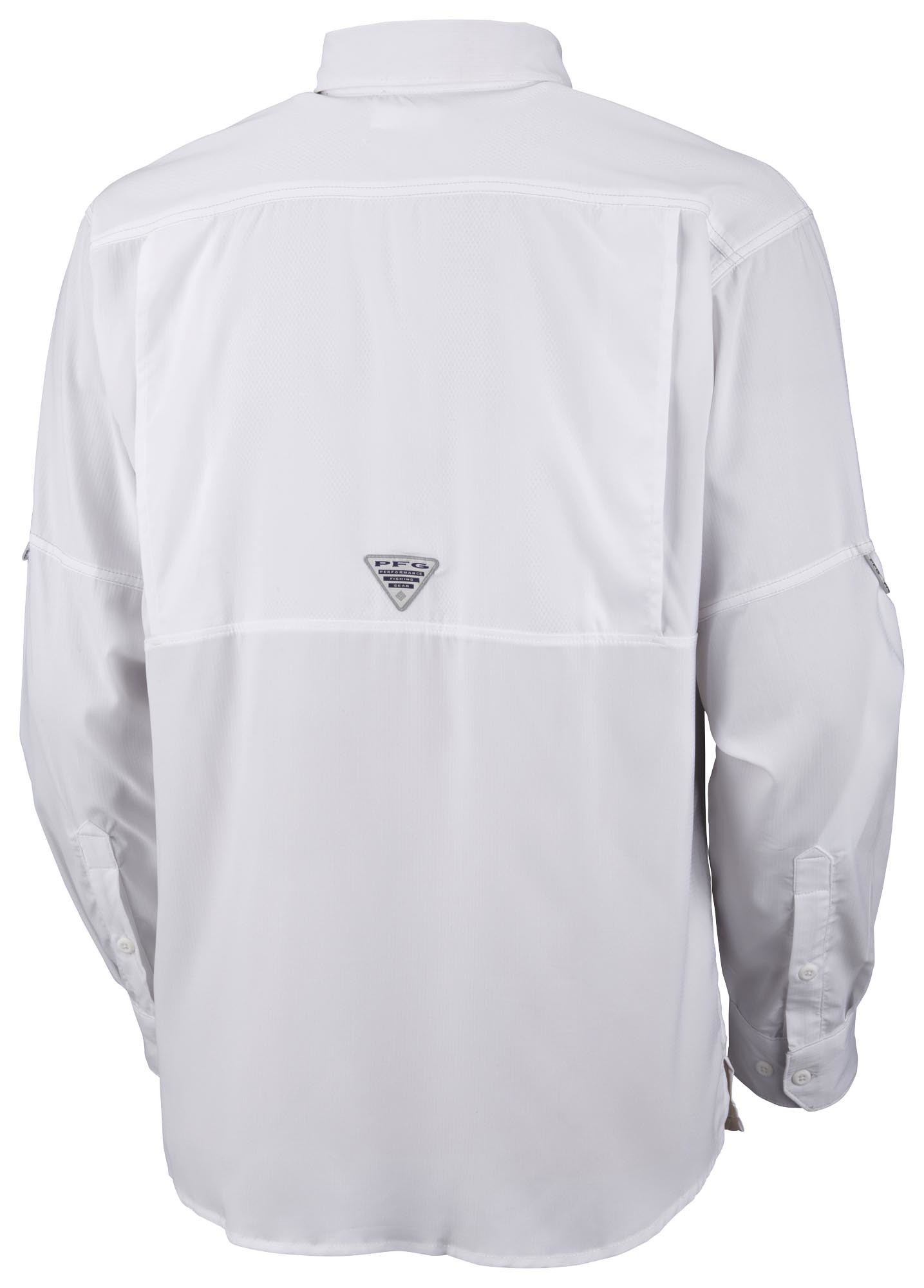 Columbia Columbia Low Drag Offshore L/S White