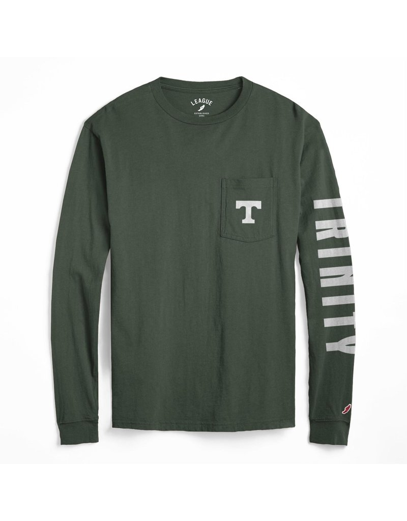 League League Soft Cotton Long Sleeve Pocket Tee