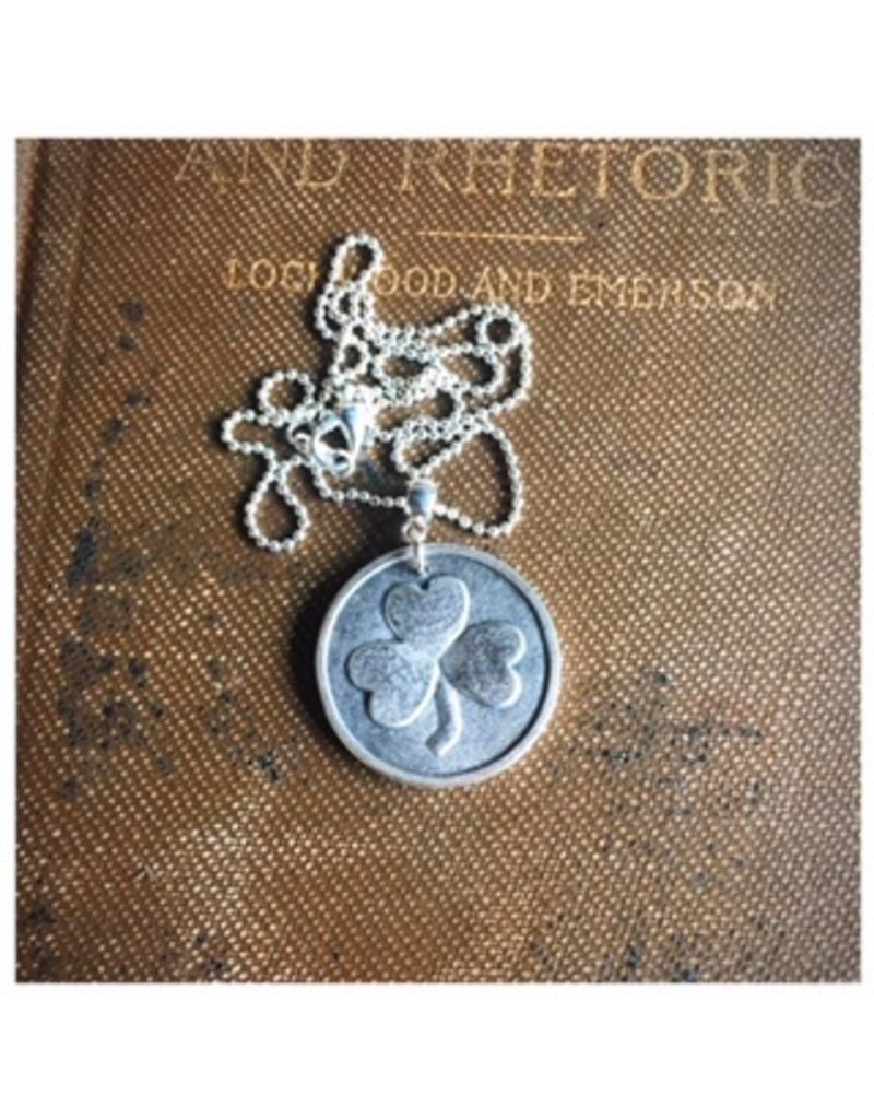 McTrinkets Shamrock Coin Necklace