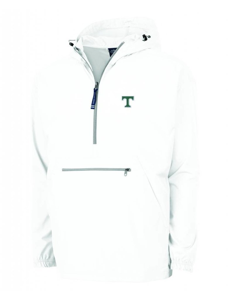 Charles River Classic Pullover White Lined