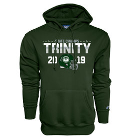 Blue 84 2019 State Football Champions Green Hoodie