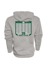 Blue 84 2019 State Football Champions Heather Hoodie