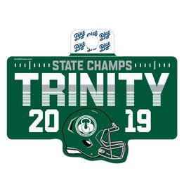 Blue 84 2019 State Football Champion Sticker