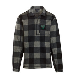 Uscape/Landway Final Sale Buffalo Plaid1/4 Zip