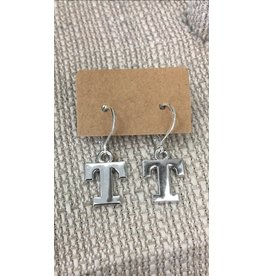 McTrinkets Power T Earrings