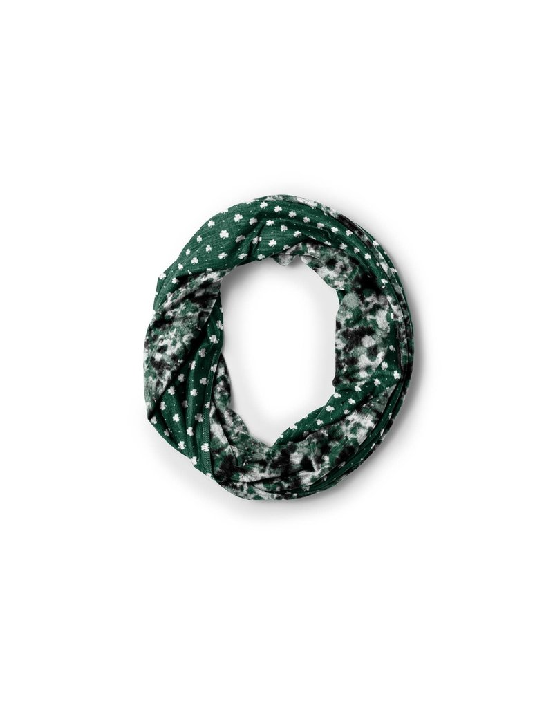 League Shamrock Tie Dye Scarf