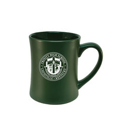RFSJ RSFJ Green Coffee Mug Etched Crest