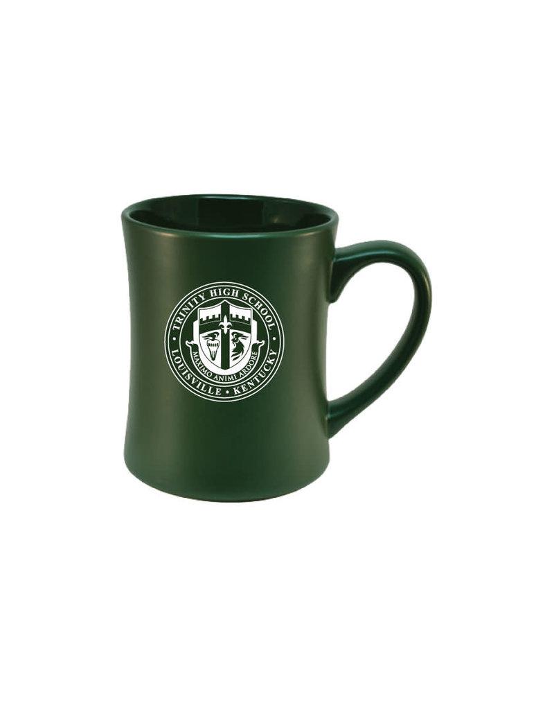 RFSJ RSFJ Green Coffee Mug Etched Crest