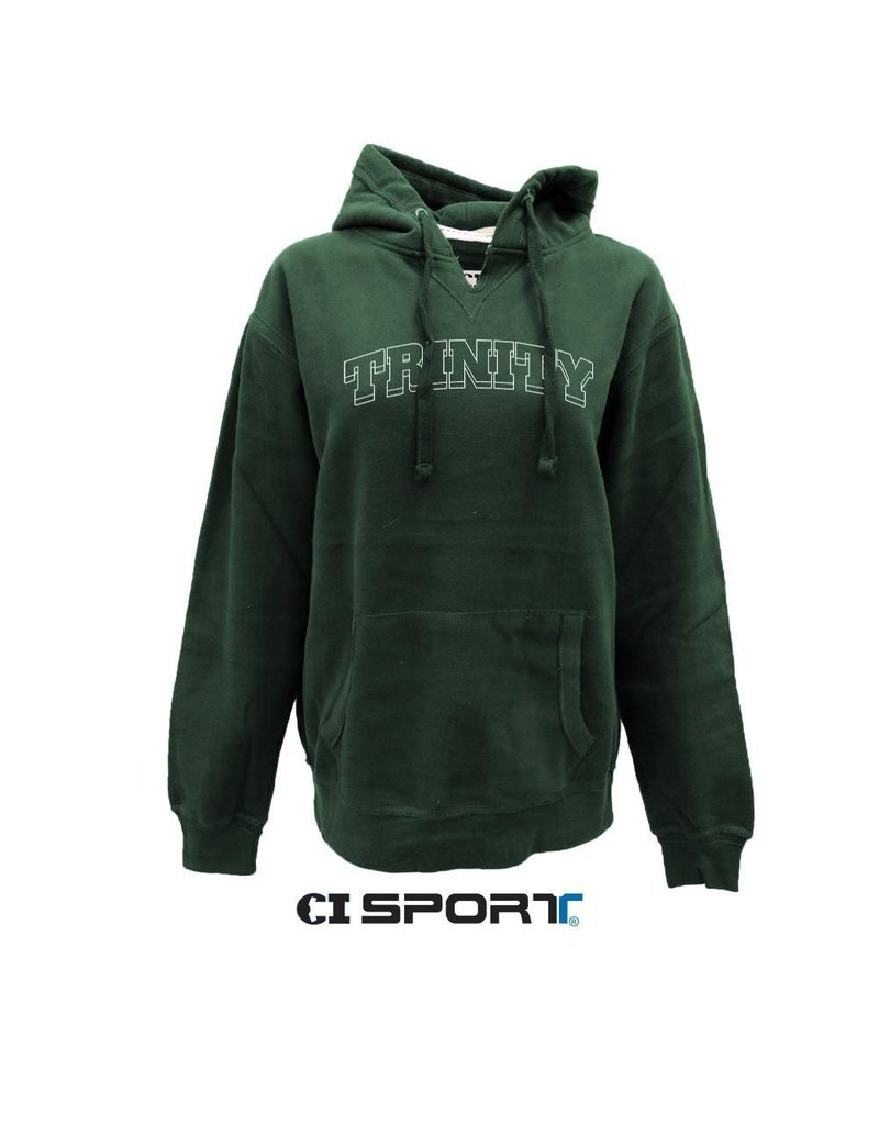 CI Sports Final Sale New Green V-Notch Soft 80/20 Cotton Hood