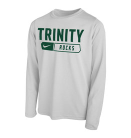 Nike Nike Youth White Long Sleeve Dri-fit 2021