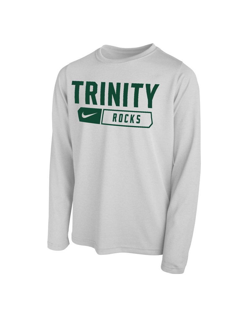 Nike Nike Youth White Long Sleeve Dri-fit 2021