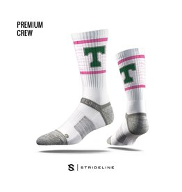 Strideline Trinity Pink Power T Socks