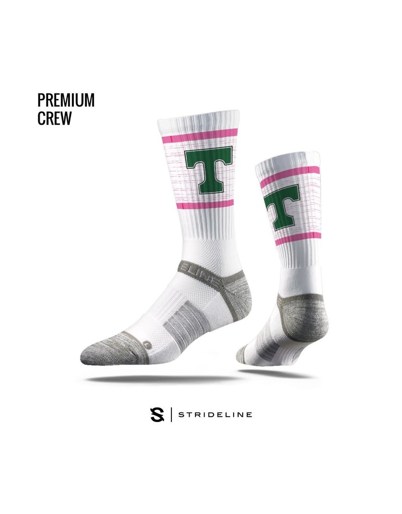 Strideline Trinity Pink Power T Socks