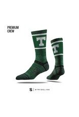 Strideline Trinity Green Power T Socks