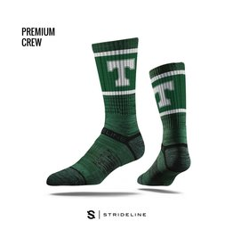 Strideline Trinity Green Power T Socks