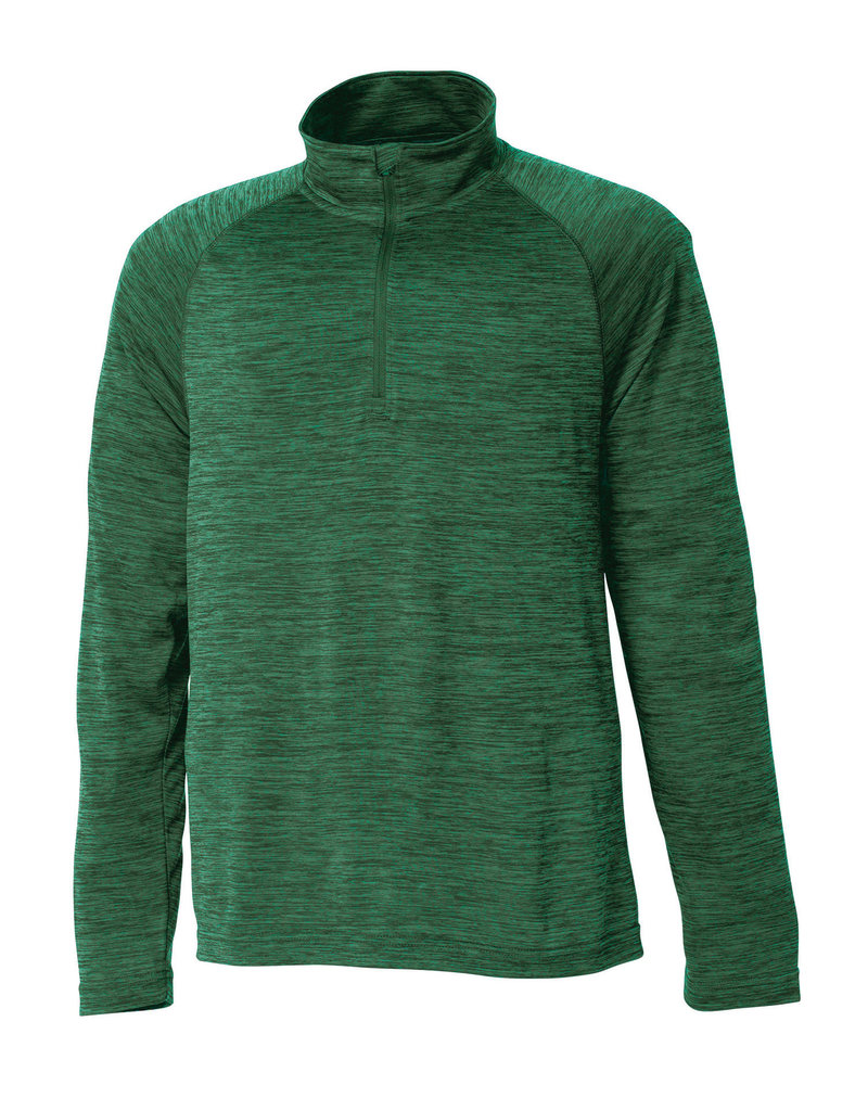Charles River Final Sale Youth Green Space Dye 1/4 Zip Pullover