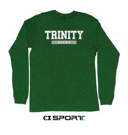 CI Sports Green Long Cotton 60/40 Tee