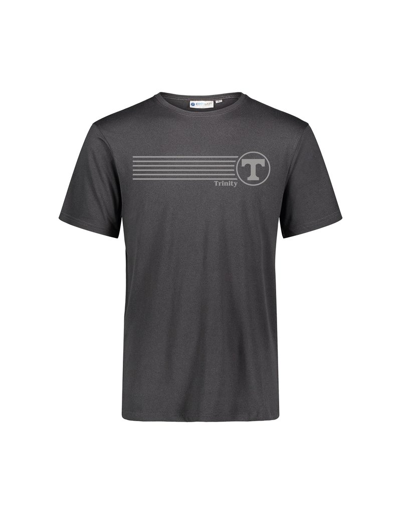 MV Sports Coollast Workout Tee Charcoal Black