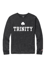 League League Long Sleeve Tri-Blend Slate Black w/ Shamrock