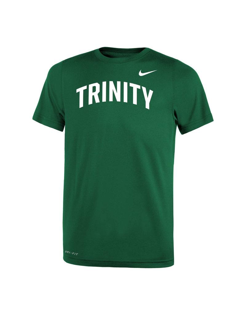 Nike Nike Youth Green Dri Fit Tee Trinity Graphic
