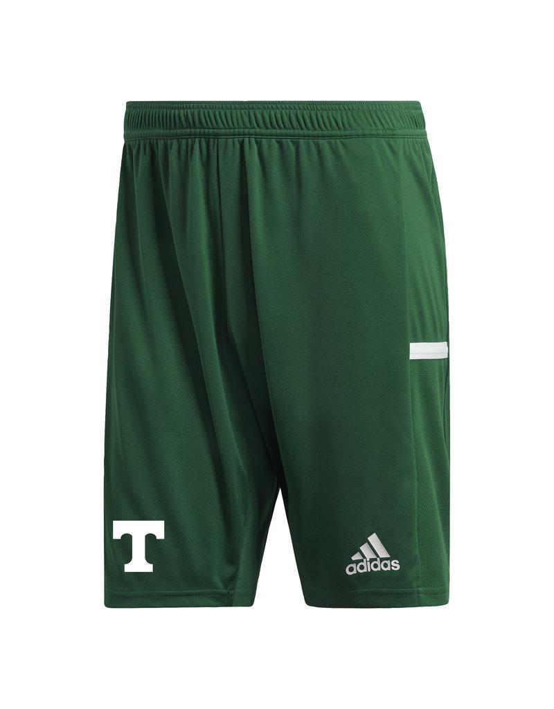 Adidas Final Sale Team Knit Adidas Green Shorts