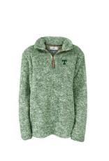 Summit Sportswear Ladies Quarter Zip Sherpa Pullover