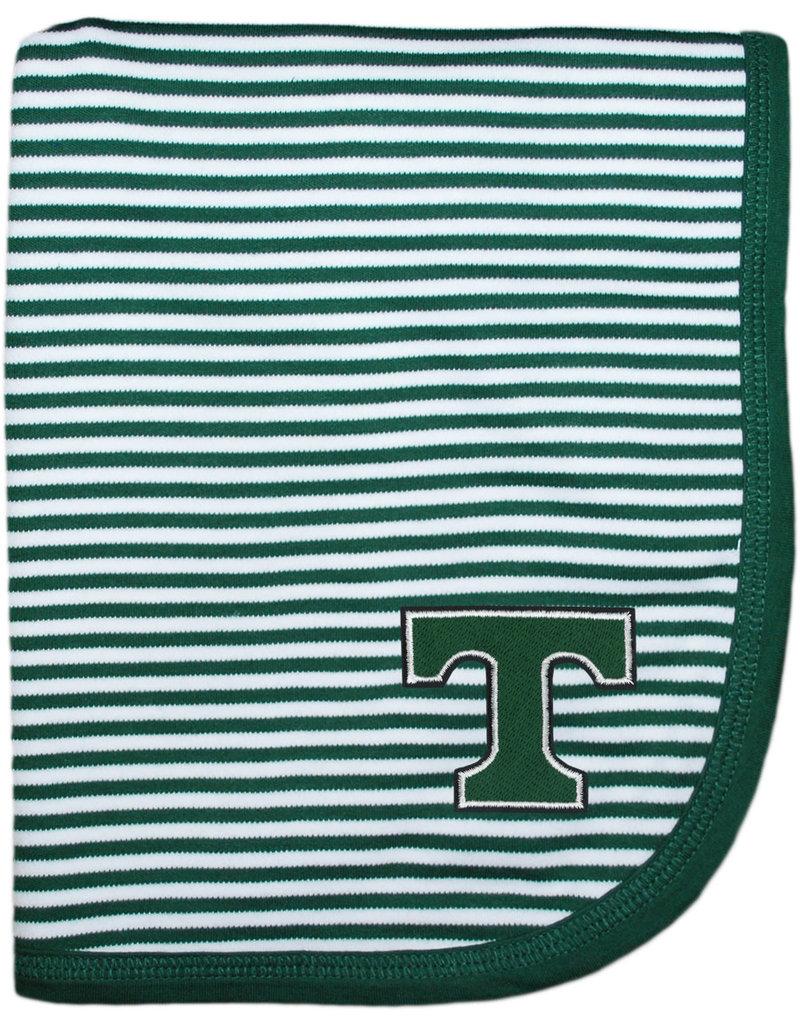 Creative Knitwear Creative Knitwear Green/White Blanket