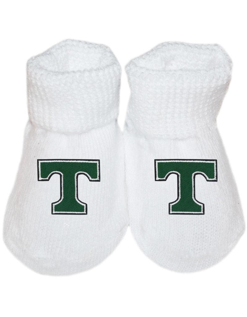 Creative Knitwear Creative Knitwear White Newborn Booties