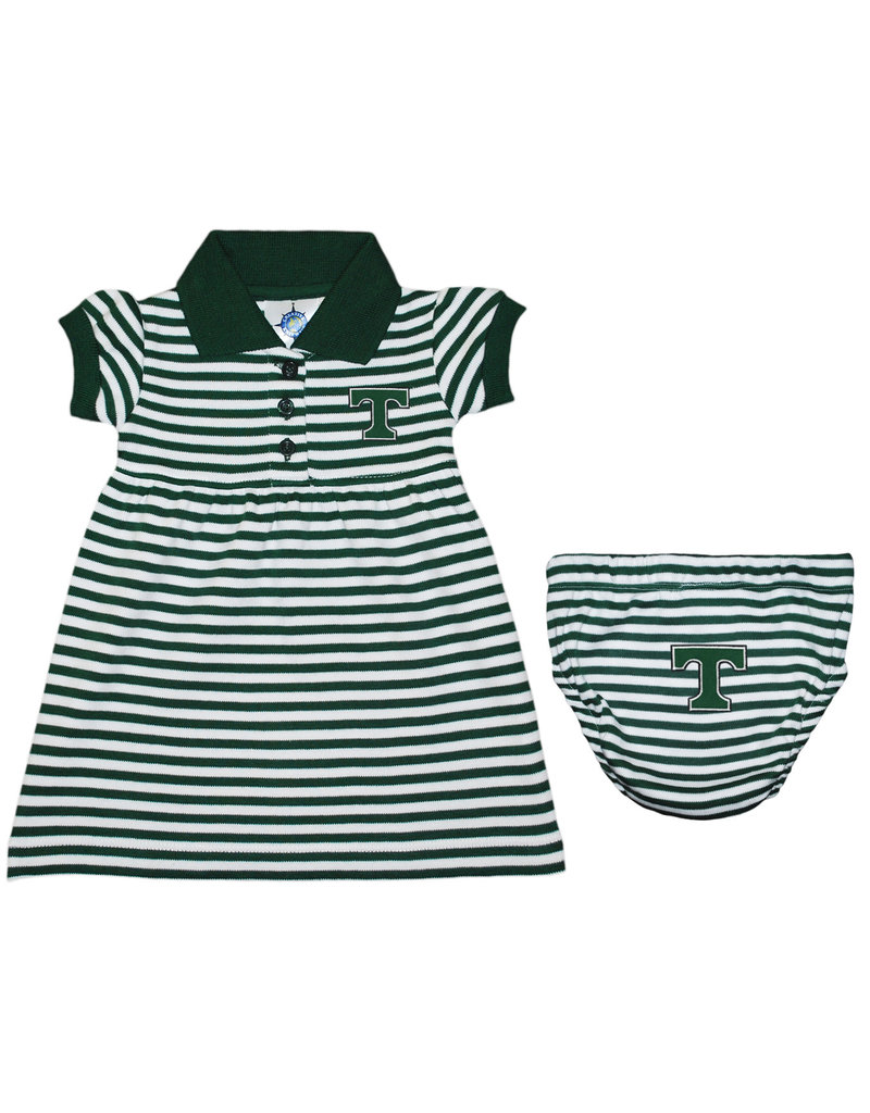 Creative Knitwear Creative Knitwear Striped Dress/Bloomer