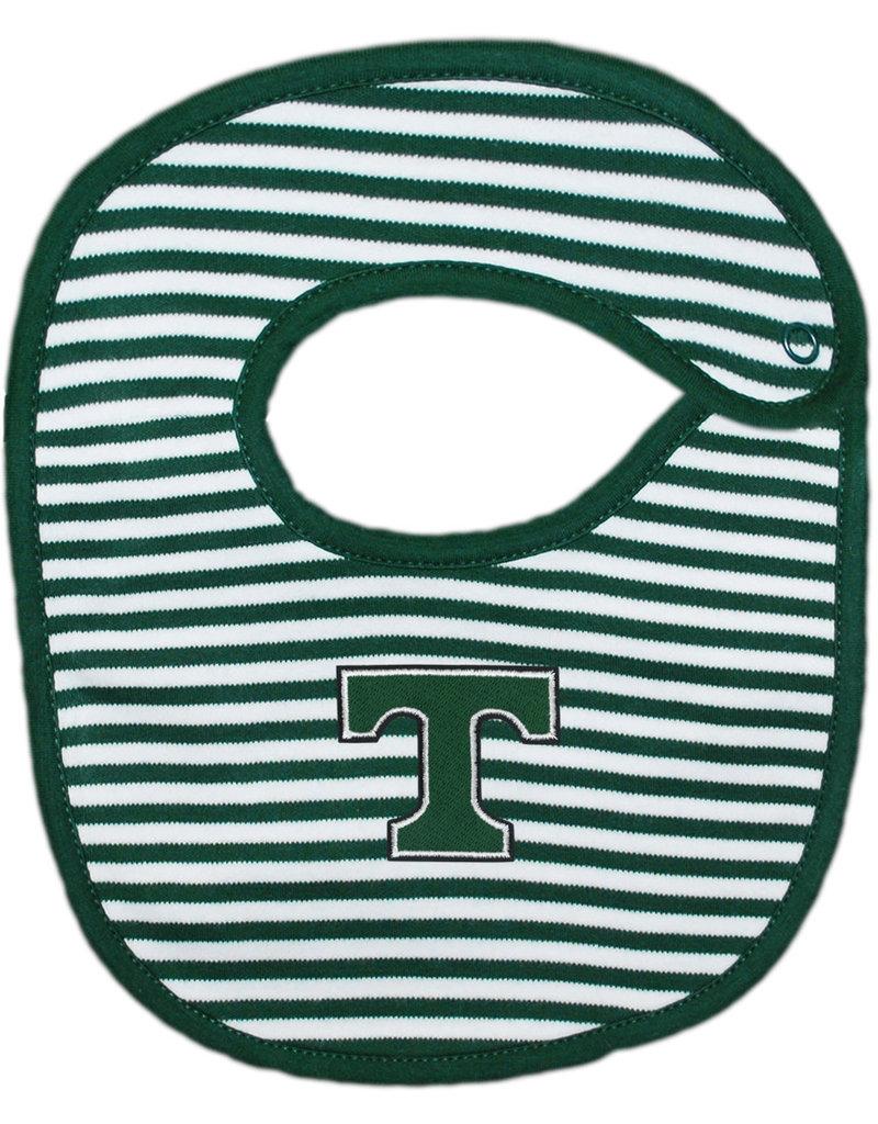 Creative Knitwear Creative Knitwear Green/White Bib