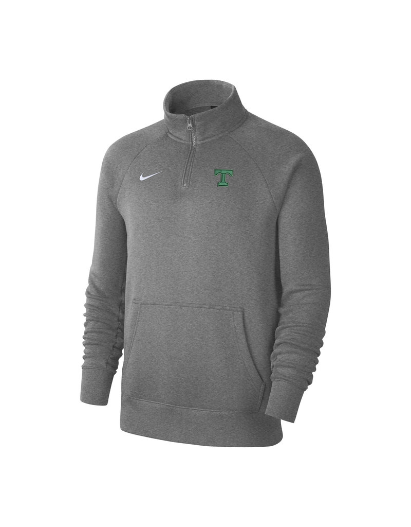 Nike Nike Grey Cotton 1/4 Zip School Approved