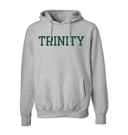 MV Sports Gray Classic 80/20 Cotton Hoodie TRINITY
